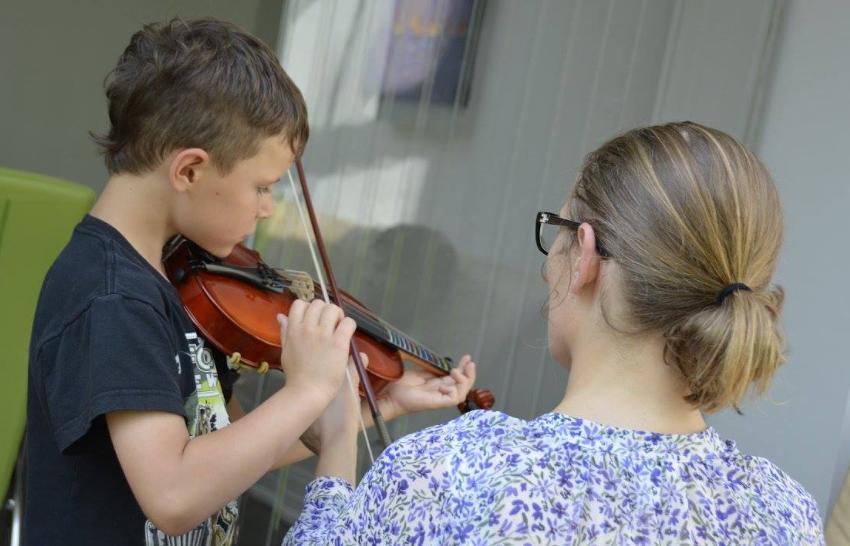 Anna Baksheeva, Ottawa violin teacher